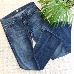7 for all Mankind A Pocket Bootcut Jeans Size 25